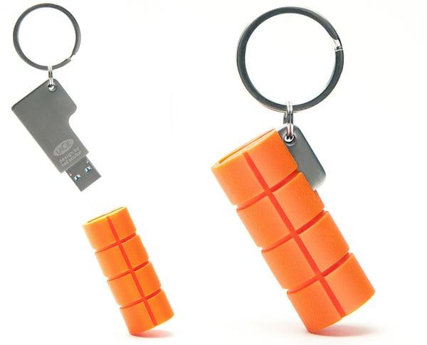 lacie ruggedkey neil poulton usb flash drive secure rugged