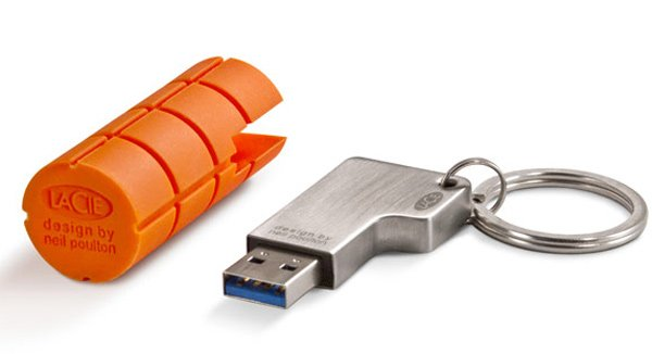 lacie ruggedkey neil poulton usb flash drive secure rugged