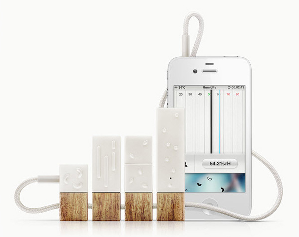 lapka personal sensor monitor iphone