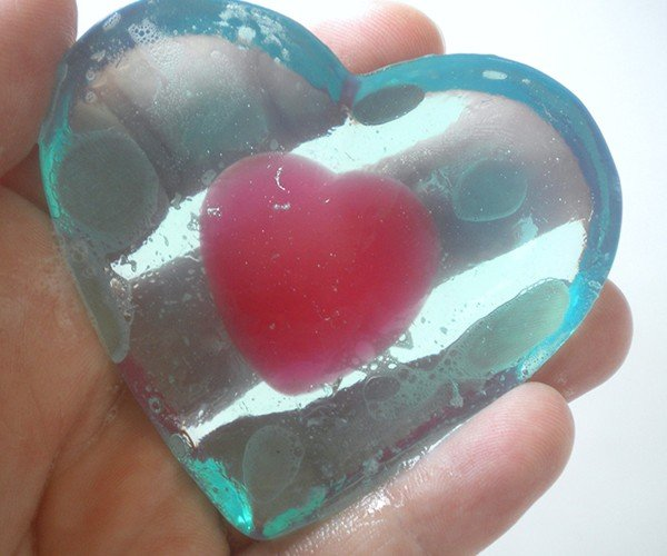 Legend of Zelda Heart Container Soap: A Link to the Bath