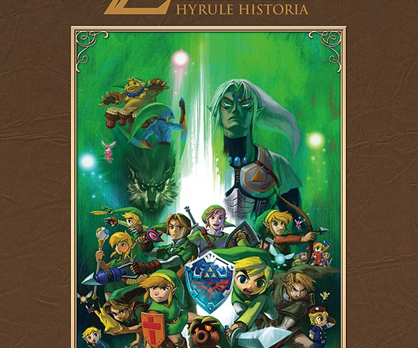 Legend of Zelda Hyrule Historia Book: A Link to Link and Everything Zelda