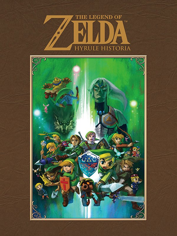 legend of zelda hyrule historia hc book