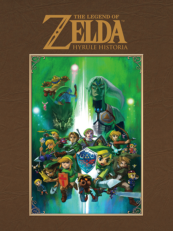 legend of zelda hyrule historia hc book