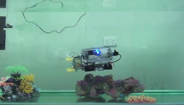 lego mindstorms nxt underwater robot by brane
