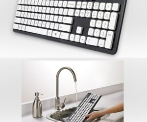 Logitech Washable Keyboard K310 Gets Rid of the Goo