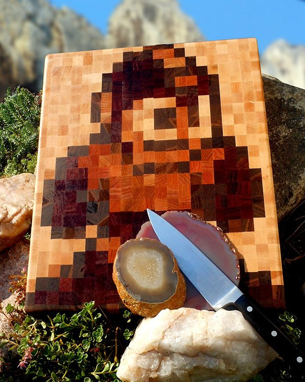 mega man cutting board 1