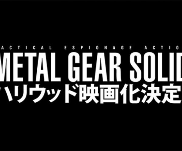 Metal Gear Solid Movie in the Works