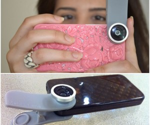 Mobi Lens Clips onto Just About Any Smartphone or Tablet Camera
