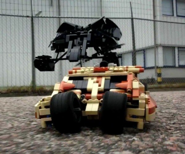 Motorized LEGO Tumbler and Bat: Not The Toys We Need, But The Toys We Really Need