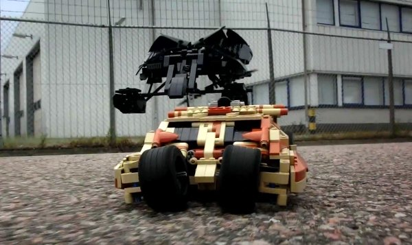 motorized lego tumbler and bat by peer kreuger