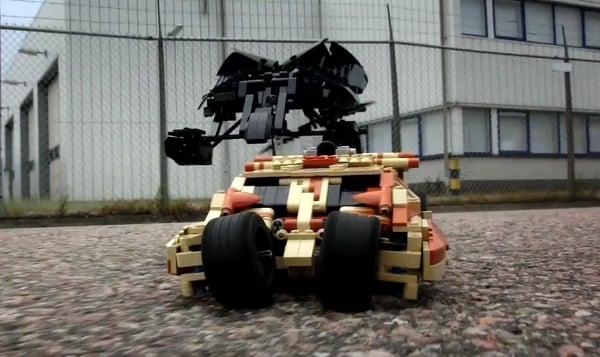 motorized lego tumbler and bat by peer kreuger