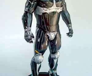 Papercraft Crysis Nanosuit 2.0 is a True Work of Art