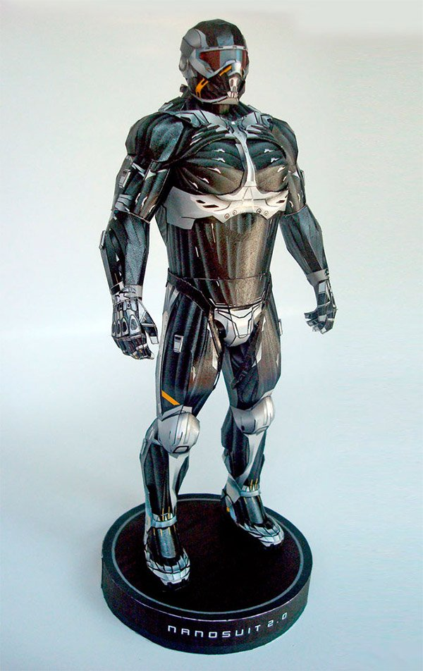 nanosuit 2 paper model 1