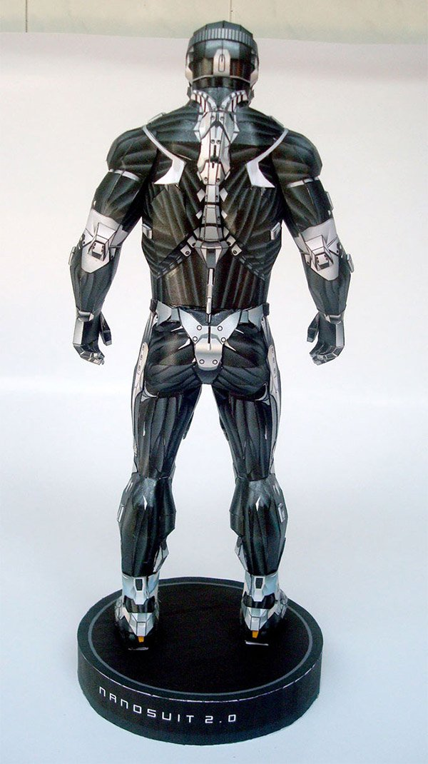 nanosuit 2 paper model 2