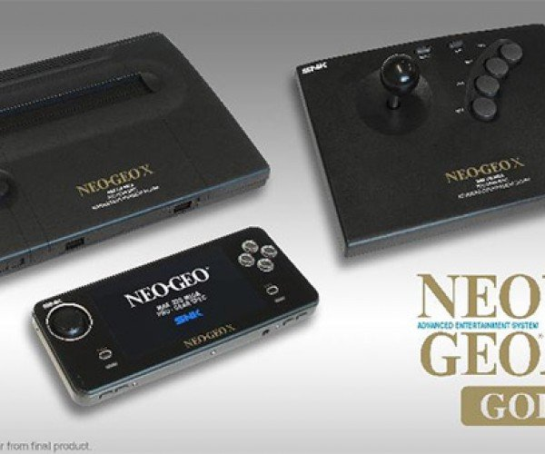Neogeo X Gold Coming for $199.99 – Is it a Console or Handheld? It's Both!