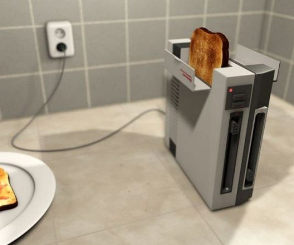 NES Toaster Makes You Take out the Toast and Blow on It