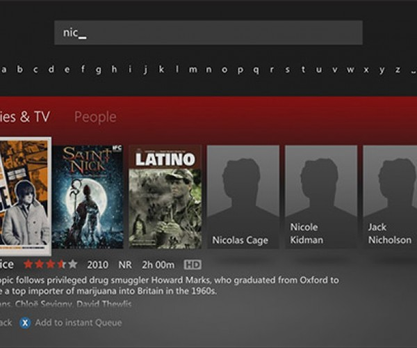 People Search Hits Netflix on Xbox 360
