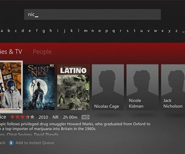 People Search Hits Netflix on Xbox 360