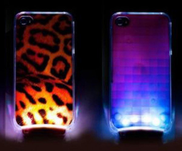OMG LED Case for iPhone Turns Notifications into a Disco Party