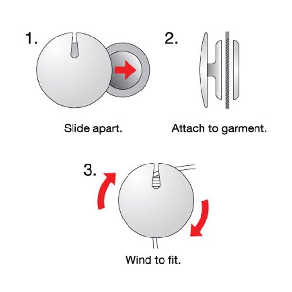 onanoff magnum earphones earbuds magnet cord management