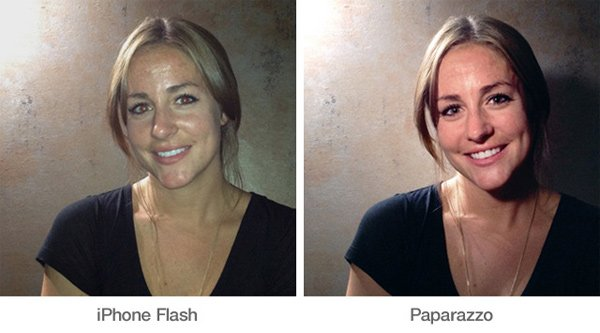 paparazzo light flash iphone kickstarter comparo