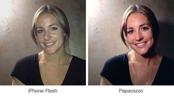 paparazzo light flash iphone kickstarter night photography