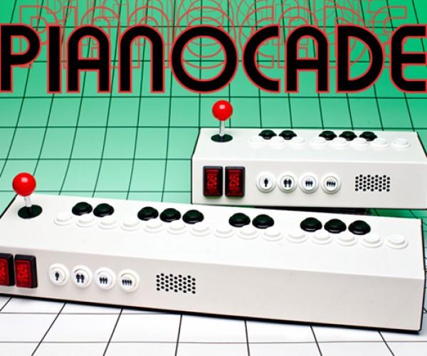 Pianocade: Super Mega Synthesizer Arcade Controller Combo