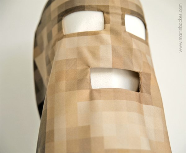 pixelhead mask by martin backes