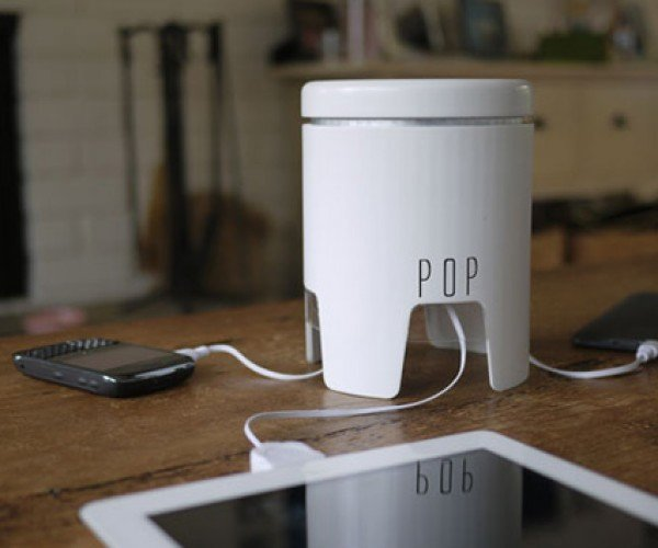 The POP: Portable Power Station to Charge All Your Mobile Devices