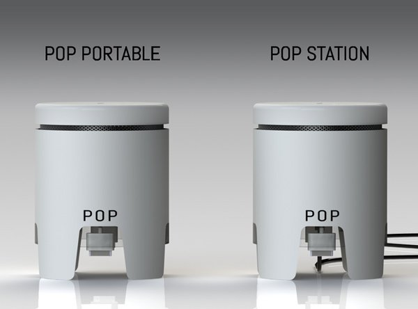 pop station charge gadget mobile portable