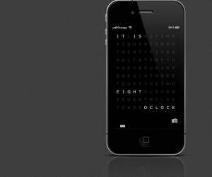 QLOCKTWO Smartphone App: For Those Who Want the $0.99 Version