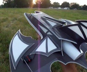 Batwing R/C Plane: The Dark Flight Rises