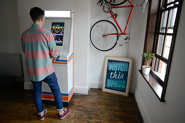 replay arcade machine by tom goodfellow