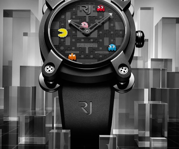 romain jerome official pac man watch 2