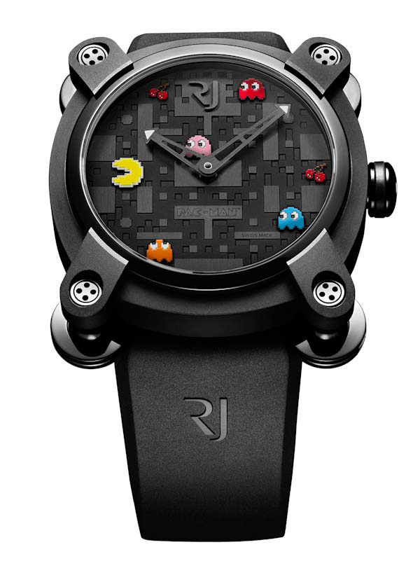 romain jerome official pac man watch