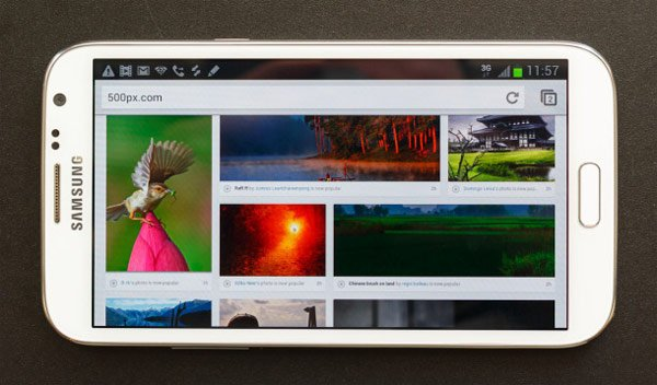 samsung galaxy note 2 smartphone tablet mobile bigger screen