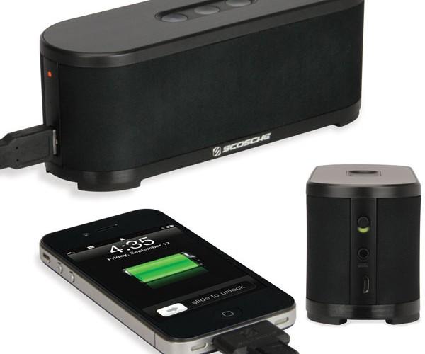 Scosche boomSTREAM Bluetooth Speaker: Wireless Tunes with a Little Extra Boom