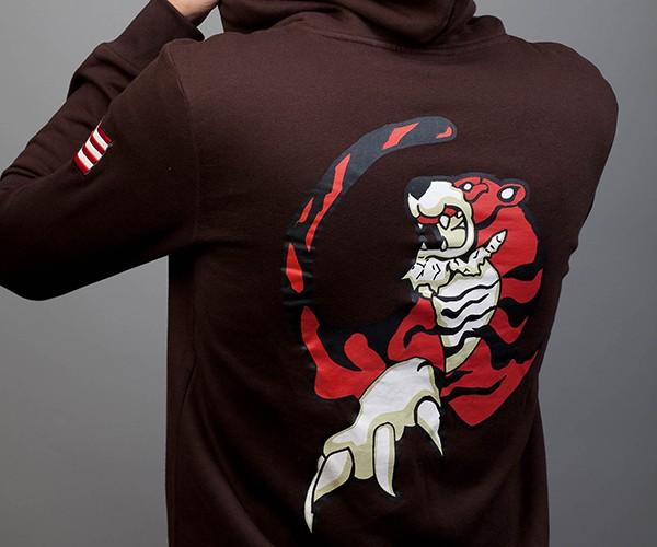 shenmue ryo hazuki tiger hoodie