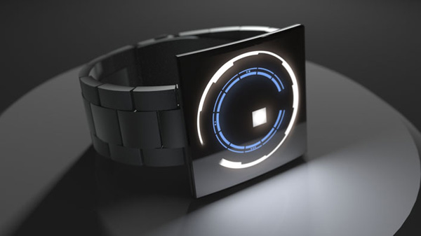 space odyssey tokyoflash watch led black