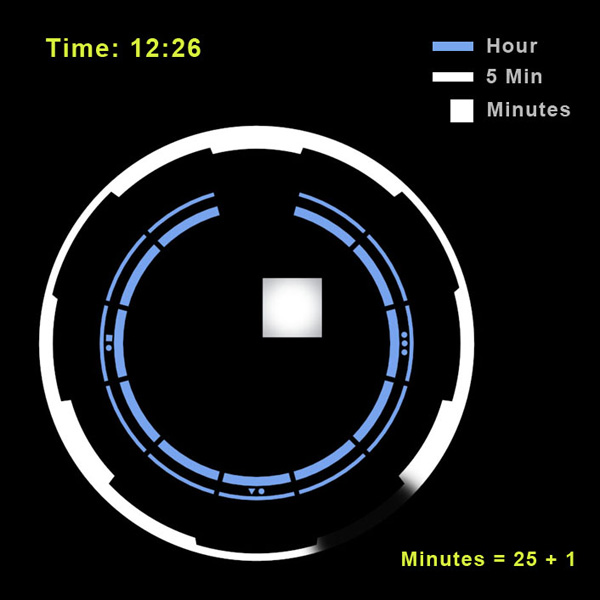 space odyssey tokyoflash watch led concept timepiece