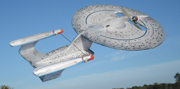 star trek starship enterprise rc plane