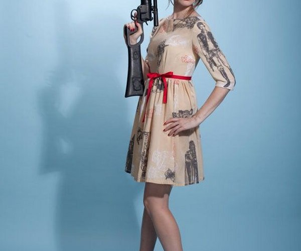 Custom-Made Star Wars Dresses for Your Inner Princess Leia