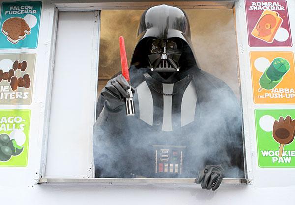 star wars lightsaber ice pop popsicle maker
