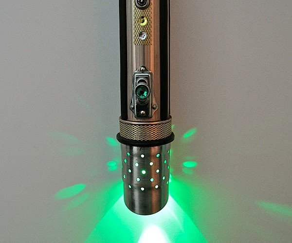 Star Wars Lightsaber Flashlight: The Empire Steampunked