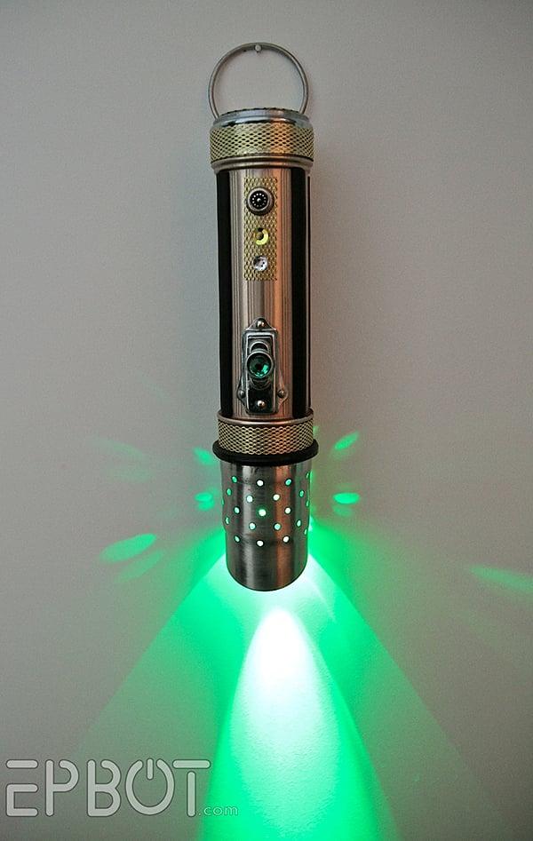Star Wars Lightsaber Flashlight The Empire Steampunked
