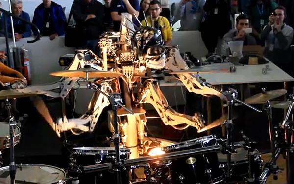 stickboy robot drummer