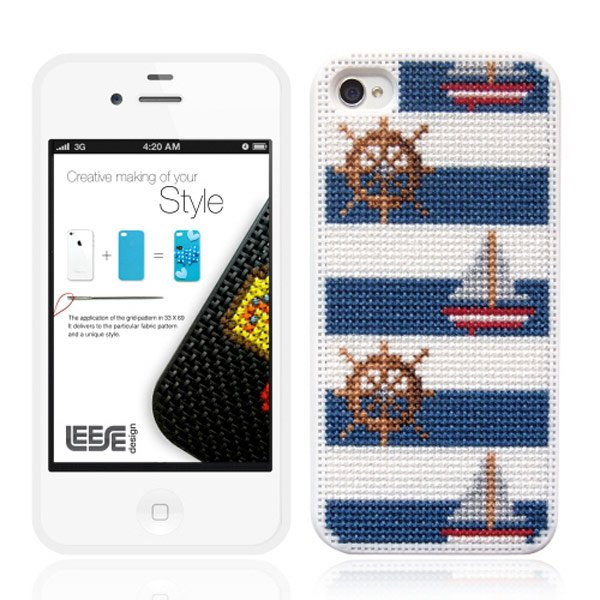 stipin diy stitch leese design iphone case marine life
