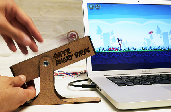 super angry birds usb controller by andrew spitz and hideaki matsui
