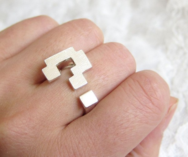 Super Mario Bros. Question Mark Ring: a 1-Up in Fistfights