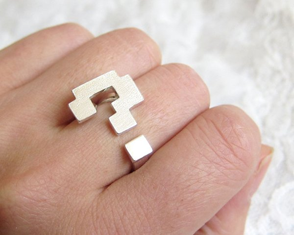 super mario bros question mark ring